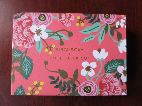 April 2015 Birchbox Rifle Paper Co