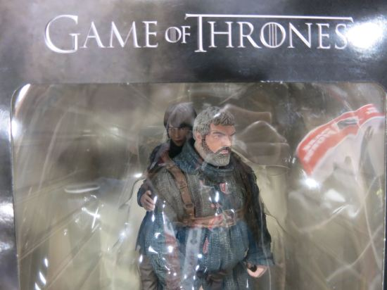 Hodor! and Bran action figure. (Sorry for the reflection.)