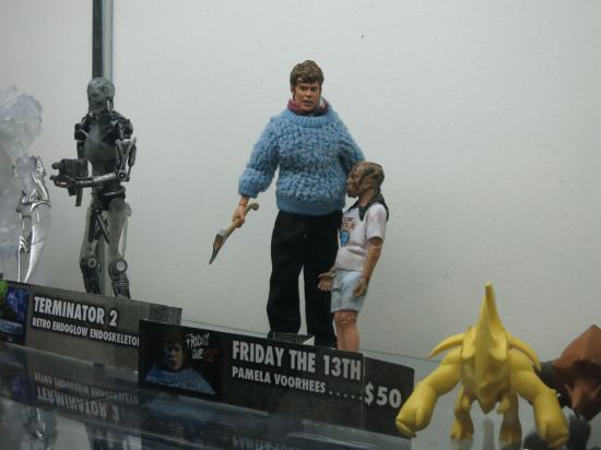 Super creepy NECA Pamela + Jason Voorhees action figure.
