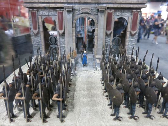 McFarlane toys Game of Thrones Khaleesi + Unsullied miniature building set.