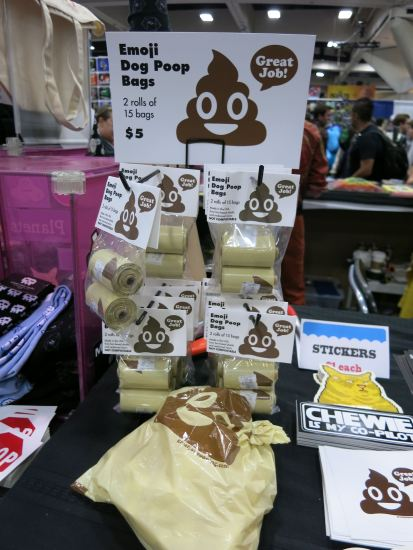 Poop emoji dog waste bags, anyone?