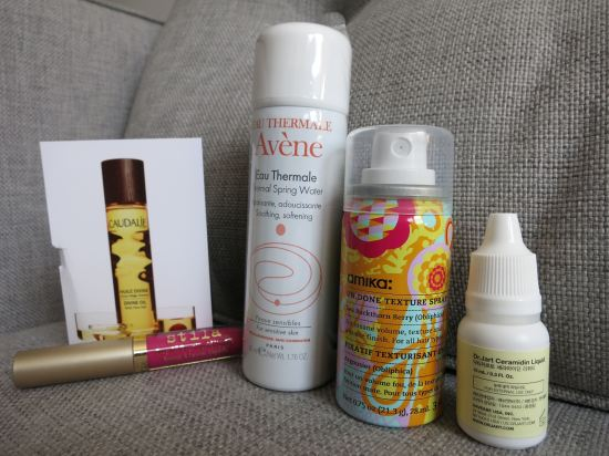 July 2015 Birchbox samples