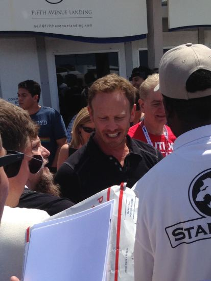 Lookin' good, Ian Ziering!