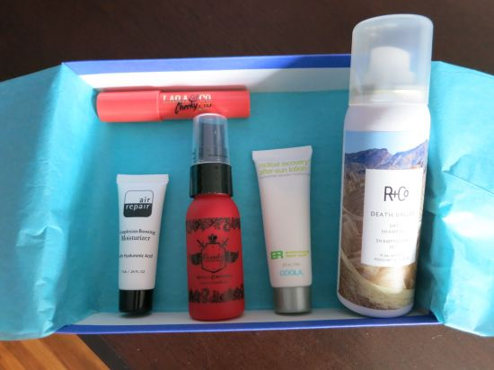 August 2015 Birchbox samples