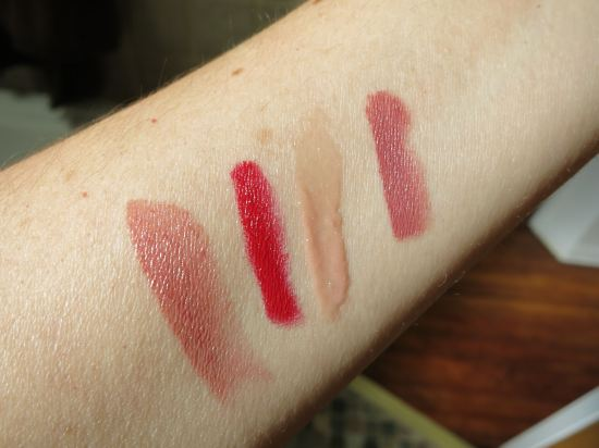 Bite Beauty Discovery Set swatches