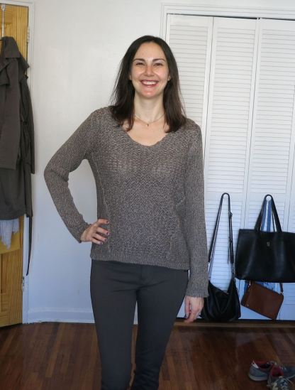RD Style Iana Twisted Seam Sweater - Stitch Fix