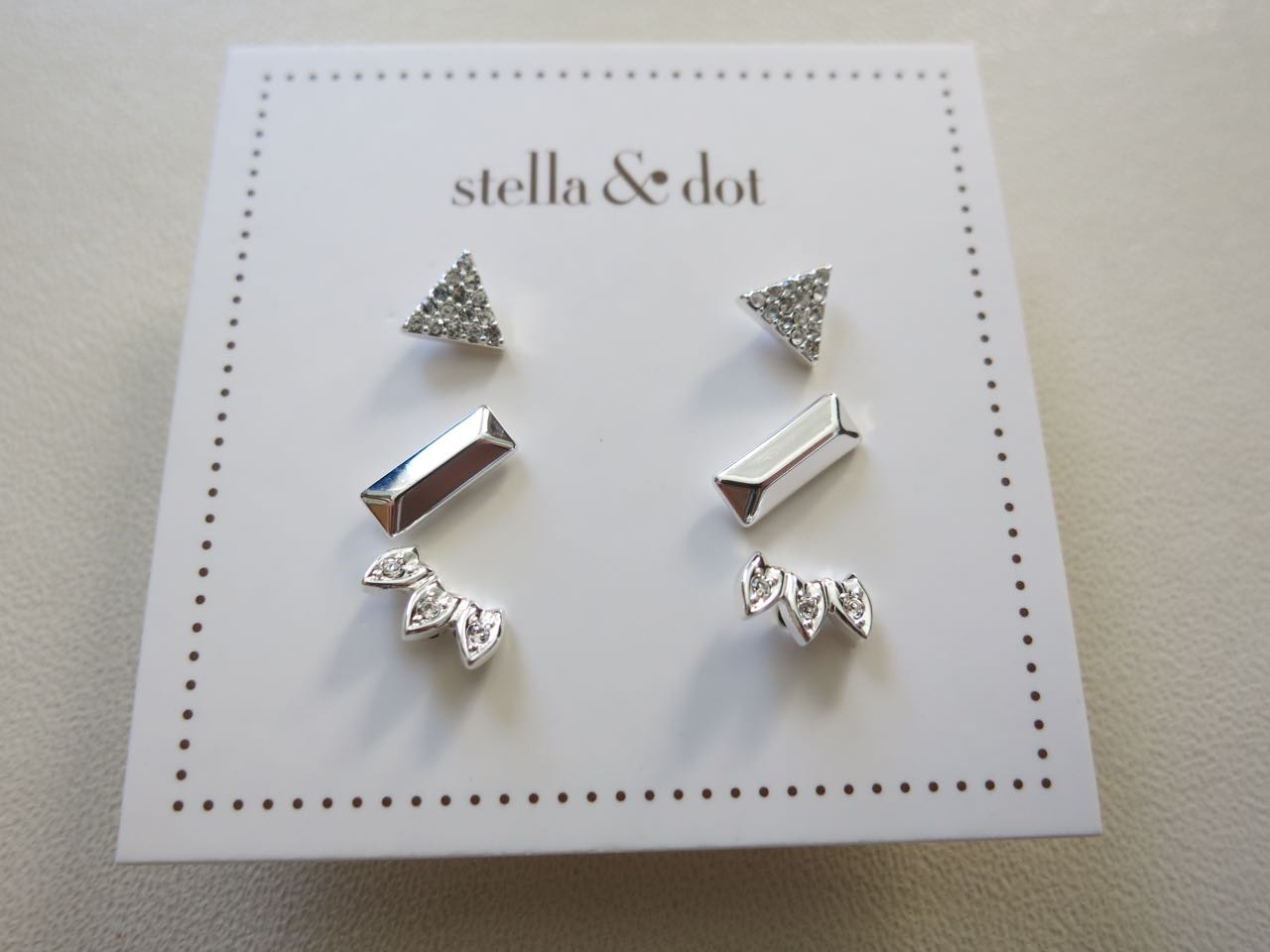Aurora Stud Pack In Silver  Stella & Dot