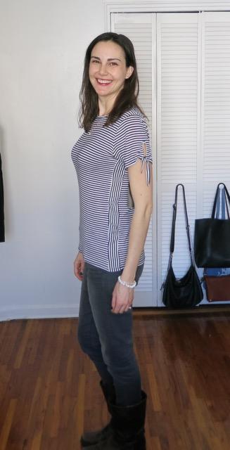 Colette Danilo Tie Sleeve Knit Top - Stitch Fix