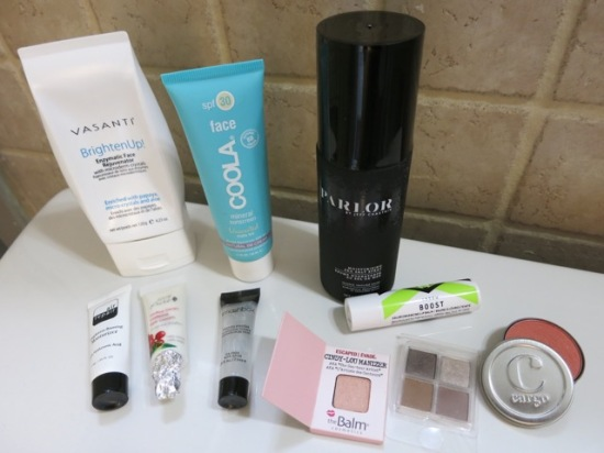 Birchbox products