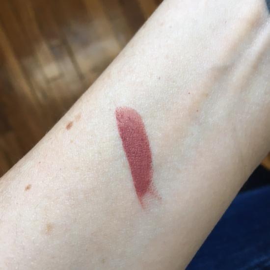 tarte Rainforest of the Sea Drench Lip Splash Lipstick in Beach Bum swatch
