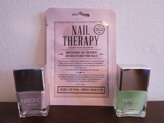 Kocostar Nail Therapy and Nails Inc NAILKALE polish