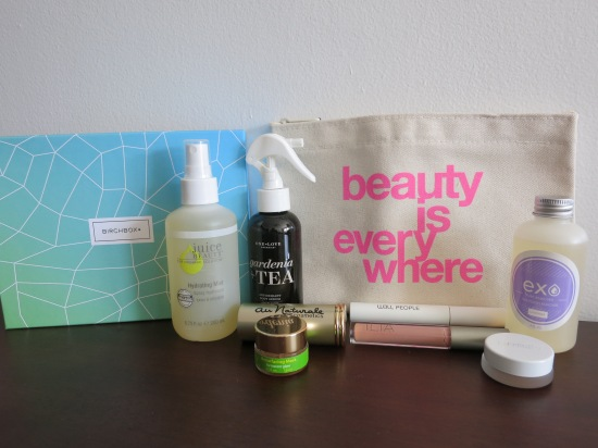 Birchbox Limited Edition New Naturals