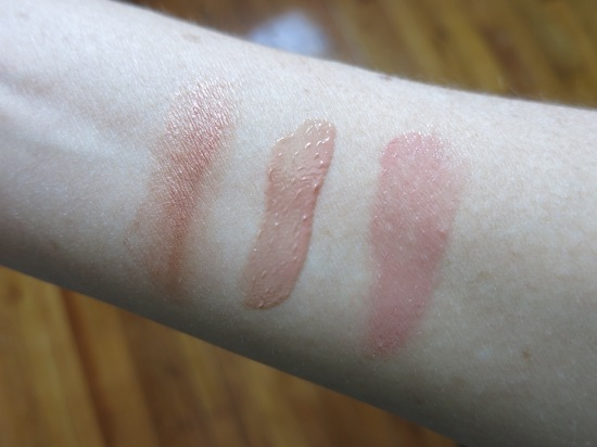 Birchbox New Naturals Makeup Swatches