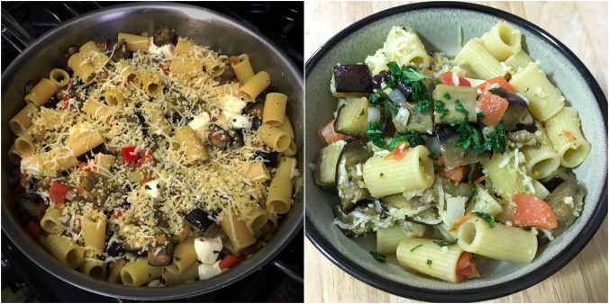 Rigatoni Al Forno with Roasted Eggplant, Fresh Mozzarella, and Basil | HelloFresh