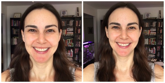 Benefit Gimme Brow before and after