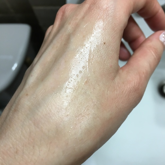 Dr. Jart+ Water Drop Hydrating Moisturizer swatch