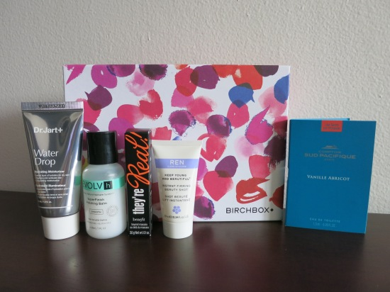 July 2016 Birchbox samples