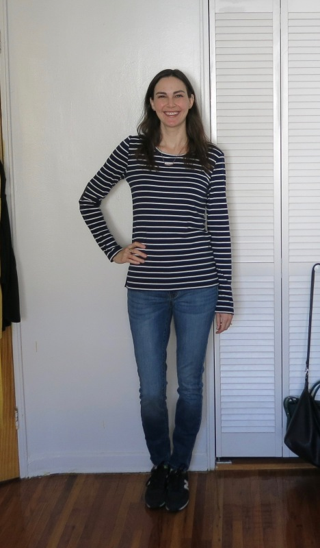Pixley Greenich Striped Knit Top, Lila Ryan Liza Skinny Jean | Stitch Fix