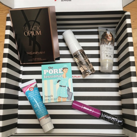 Play! by Sephora Samples | June 2017
